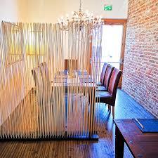 bambus raumteiler paravent ideen für restaurant wohnideen