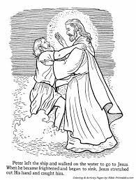 Jesus Teaches Coloring Pages 12