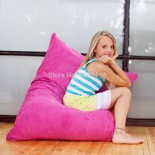 JAXX LOUNGER Soft Comfy Kids Bean Bag Chair, Junior Beanbag ...