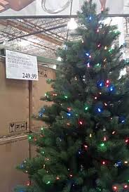 Ge Pre Lit Christmas Tree Replacement Bulbs by Costco Christmas Trees Costco Insider
