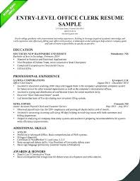 Entry Level Resume Examples Summary Accounting Objective