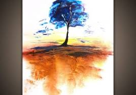 Abstract Simple Painting How To Paint Landscape Art Of A Tree Timeless
