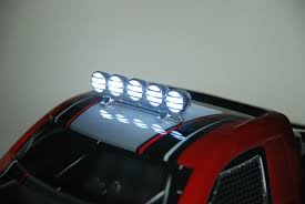 Chrome Light Bar (5) LEDs - RC-Lighthouse