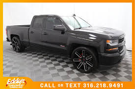 New 2017 Chevrolet Silverado 1500 Extended Cab Custom Truck In ...
