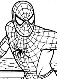 To Download Spiderman Coloring Sheet