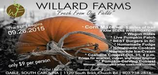 Pumpkin Patch Columbia Sc 2015 by Local Corn Mazes Mazeplay