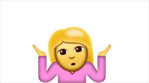 Download Shrug Emoji Transparent PNG Image
