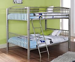 Full Over Full Bunk Bed with Full Trundle — Modern Storage Twin