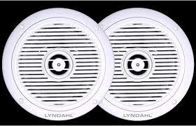 lyndahl cs180ip 2 wege deckenlautsprecher einbaulautsprecher für badezimmer und dusche geeignet durch schutzklasse ip44 farbe weiß