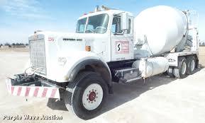 100 Ready Mix Truck 1977 Western Star 8464 Ready Mix Truck Item DA7677 SOLD