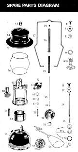 Kerosene Lamp Wicks Australia by Kerosene Presser Lamps Parts