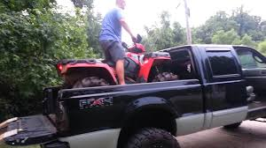 Loading 4 Wheeler Into Lifted Truck - YouTube Diy Atv Lawnmwer Loading Ramps Youtube The Best Pickup Truck Ramp Ever Madramps And Utv Transport Made Easy Four Wheeler Ramps For Lifted Trucks Truck Pictures Quad Load Hauling The 4 Wheeler In Bed Polaris Forum 1956 Ford C500 Cab Auto Art Cool Pinterest Atvs More Safely With By Longrampscom Demstration Of Haulmaster Motorcycle Lift Ramp Loading A Made Easy Loadall V3 Short Sureweld Wheel Riser Front Wheels Ramp Champ