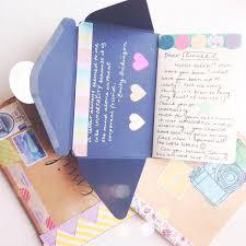Lovely Idea Etiquetas Snail Mail Pen Pals Mail Art Y