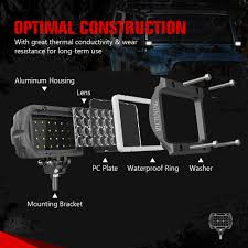 100 Work Lights For Trucks MIC TUNING INC Off Roadled Lights Auto Accessoriesonline Shopping