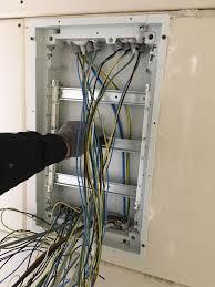 wie unterverteiler montieren und installieren