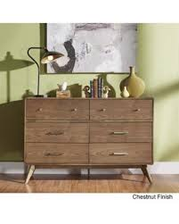 6 Drawer Dresser With Mirror by Incredible Deal On Penelope Danish Modern Curved 6 Drawer Dresser