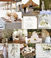 Needs A Bit More Color But Mood Rustic Elegant Spring Wedding Palette Nest Brown Petal White I Love The Down To Earth And Elegance Together