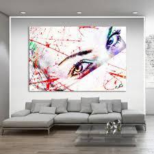 wandbilder bild leinwand abstrakte frauen gesicht kunst