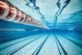 Water Underwater Swimming Pool Sports Tiles Lines Reflection