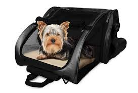 furhaven pet backpack roller carrier travel pet carrier dog