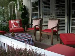 Red Patio Furniture Decor by Christmas Decorating Ideas Front Porch Pictures Cool Interior And