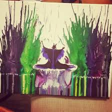 Melted Crayon Art With Maleficent My Favorite Disney Villain