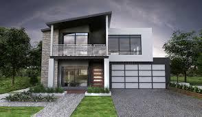 100 Concrete Residential Homes MALIBUtwostoreydesignfrontElevationfullrenderdouble