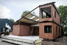 100 Recycled Container Housing WFH House Incorporates Shipping Containers Into A Modular
