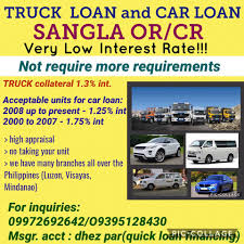 100 Truck Appraisal Sangla ORCR Of Any Vehicles Car 2nd Hand Financing Home