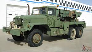 100 Military Truck Auction 1968 US Army Recovery Equipment M62 Medium Wrecker 5Ton 6x6