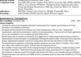 Software Developer Resume Objective