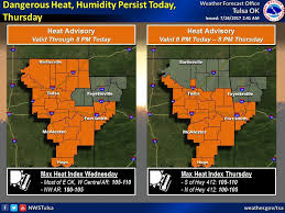 Tulsa World Pumpkin Patch by Dangerous Heat Thunderstorm Potential Forecast For Thursday In