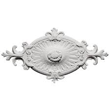 2 Piece Ceiling Medallion Canada by Westinghouse Bellezza 14 In White Ceiling Medallion 7775000 The