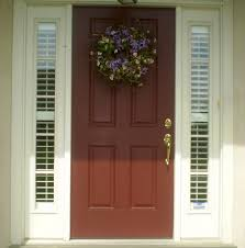 Front Door Sidelight Curtain Panels by Entry Door With Two Side Lights Shutters Stay Nice And Tight To