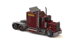 Peterbilt 379 3D Model In Truck 3DExport