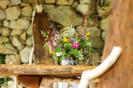 Flower Bouquet Still Life Nature Rustic Pot