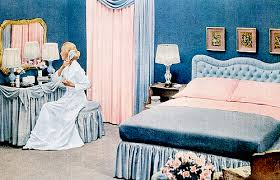 Mid Century Living Early 50s Bedrooms 1950 55