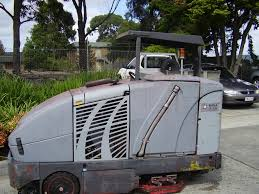 Commercial Floor Scrubbers Australia by Used Nilfisk Advance Cr1200battery Rider Sweeper Scrubber
