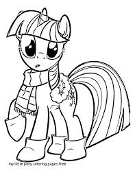 Twilight Sparkle Coloring Page My Little Pony Girls Pages Human