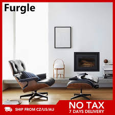 furgle replik esszimmer stuhl große größe swivel lounge stuhl ottomane top echt leder palisander sessel wohnzimmer sofa freizeit