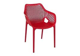 Dining Chairs With Arms Siesta Air Xl Outdoor Arm Chair Red Room