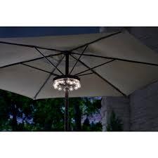 Hampton Bay Patio Umbrella by Hampton Bay 10 In Umbrella Lighting Kf09026 The Home Depot