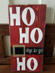 Christmas Signs Made Out Of Wood