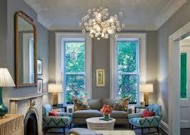 living room chandelier traditional brown wall pant oak wood
