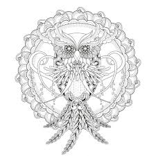 Incredible Owl Mandala Coloring Page From The Gallery Mandalas Artist Free Printable For Adults Pdf Easy