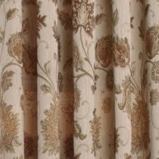 Jacobean Floral Design Curtains by Melbourne Jacobean Floral Champagne Chenille Window Treatment