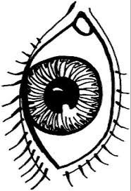 Pair Of Eyes Coloring Page Pages