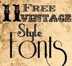 Enfuzed 11 Free Vintage Style Fonts