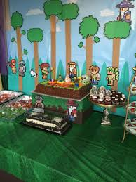 Terraria Halloween Event Server by Terraria Handmade Decorations My Diy Terraria Birthday Party