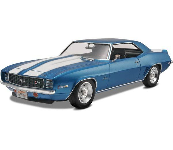 Revell Monogram 69 Z-28 Camaro Rs Model Kit - 1/25 scale